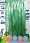 2M-3M Foil Fringe Tinsel Shimmer Curtain Door Wedding Birthday Party DECORATIONS