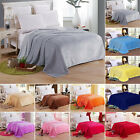 Warm Soft Mink Throw Large Fleece Sofa Bed Blanket Double King Size Solid Large image