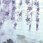 Voile+Tulle+Curtain+Floral+Embroidery+Sheer+Valance+Fairy+Panel+Drape+Home+Decor