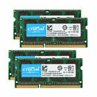 New Crucial 8GB 2RX8 PC3-12800S DDR3 1600MHz 204pin Sodimm Laptop Memory RAM