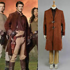 Firefly Serenity Captain Malcolm Reynolds Brown Coat Cosplay Costume Halloween