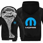 Winter Mopar Hoodies Men Fashion Coat Wool Liner Jacket Mopar Sweatshirts Warm $49.49 USD on eBay