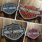 Patch Iron-On Harley-Davidson Logo Embroidered Applique Jacket $5.0 USD on eBay