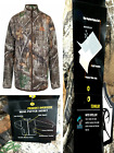 Realtree Edge MEN'S INSULATED  Puffed Camo JACKET Zip Front
