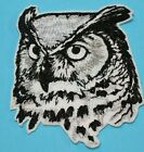 Patch Iron-On Owl Bird By Sketch Embroidered Applique Patches For Jackets