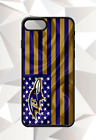 BALTIMORE RAVENS FLAG IPHONE 5 6 7 8 X PLUS (US SELLER) CASE FREE SHIPPING $14.95 USD on eBay
