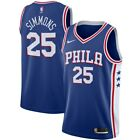 Nike Philadelphia 76ers Ben Simmons Swingman Road Jersey SZ L Men's Phila on eBay