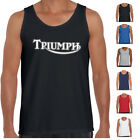 Triumph Men's T shirts Motorbike T shirt British bikes logo Mens Prints tee's $19.99 AUD on eBay