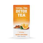 Total Tea Detox Tea  100 Natural  Helps w/ Bloating Constipation  25 teabags