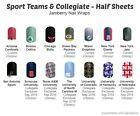 Jamberry Nail Wraps - Half Sheets - SPORTS TEAM & COLLEGIATE Patterns on eBay