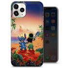 LILO AND STITCH OHANA PHONE CASE COVER FOR IPHONE 4 5 6 7 8 X 11 SE