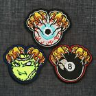 BALL CLAWS Eye Eight Tennis High Quality 100% Embroidered Patch Badge Iron-On $4.78 USD on eBay