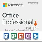 Microsoft Office 2019 MS Office Professional Plus PKC Retail Version 1PC