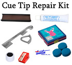 Snooker / Pool Cue Tip Repair Kit & Metal Tip Clamp / Elk Master Tips 8 - 14mm £14.99 GBP on eBay