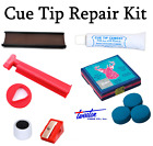 Pool / Snooker Cue Tip Repair Kit & CUPPA Tip Clamp Elk Master Tips 8 - 14mm £14.59 GBP on eBay