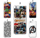 'Marvel Hero Avengers Superhero Movie Comic Case For Ipod Touch 5th 6th 7th Gen