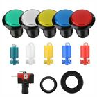 46MM Round LED Illuminated Push Button for Arcade Game Machine Micro Switch