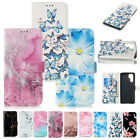 For Samsung Galaxy Note 10 Plus S10 S9 S8 Pattern Phone Case Wallet Cover Stand