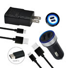 6FT Phone Charging C Cable Wall Car Chargers for LG Stylo 4 G7 V40 G8 ThinQ V30
