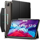 NEW 2020 Apple iPad Pro 12.9 Smart Case Auto Sleep Safety Clasp Protector Cover