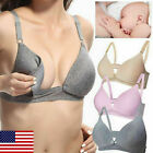 US Women Maternity Pregnant Nursing Bra Breastfeeding Bras Baby feeding 02