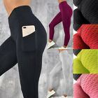 Compression High Waist Yoga Fitness Legging Push Up Sports Pants Anti-Cellulite