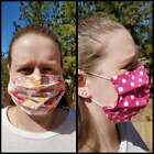 Kyпить Hand made Face Protection WASHABLE/REVERSIBLE Adult 100% Cotton, Elastic Loops на еВаy.соm