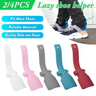 Portable Lazy Shoe Helper Unisex Handled Shoe Horn Easy on& Off Shoe Lifting Kit