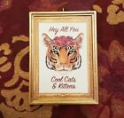 Hey All You Cool Cats & Kittens Carole Baskin Tiger King Ornament/Magnet/DHM