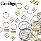 Metal Bra Strap Adjuster Slider/ Hook /O Ring Lingerie Sewing Craft 6mm 25mm