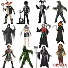 Halloween Scary Boys Costume Swamp Monster Kids Mummy Scary Jack Lantern Dress