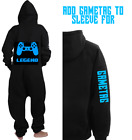PLAYSTATION 4 ONE ZIE PYJAMAS ALL IN ONE JUMPSUIT Gaming clothing xbox one PS4