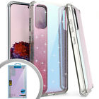 "Samsung Galaxy S20 PLUS (6.7"") Hard Rubber TPU Iridescent Glitter Case Cover"