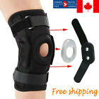 Higed Double Metal and Hinged Knee Brace Support Protection Arthritis Sport