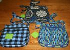 Vera Bradley PETITE DOUBLE ZIP HIPSTER crossbody small little mini shoulder bag