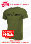T Shirt Men Dry Fit Short Sleeve Green Olive Israel Defense Forces Army Idf