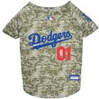 Los Angeles Dodgers Pet Camo Jersey from StayGoldenDoodle.com
