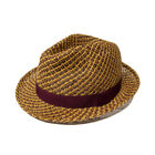 Paul Smith PS 2 Straw Trilby Hat Tan - SALE EVENT!