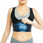 Sauna Shaper For Men Women Premium Workout Tank Top Polymer Sweat Vest Shapewear