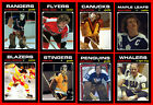 RETRO 1970s NHL WHA High Grade Custom Made Hockey Cards U-PICK Series 2 THICK $2.4 CAD on eBay