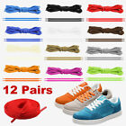 Unisex Flat Athletic Sport Boots Sneaker Shoelaces Non-Fraying Shoe Lace Strings