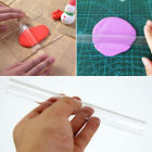 Transparent Acrylic Non-stick Rolling Pin Fondant Cookies Baking Pastry Roller image