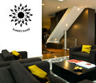 Personalised 3d 3d Wall Decoration Acrylic Sun Decal Mural Home Room Sticker