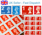 BRAND NEW 1st 2nd Class Postage Stamps - Small Large - Genuine Royal Mail