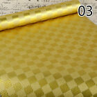 5M 3D Gold Folis Mosaic Wallpaper Self Adhesive Waterproof Stickers Wall Country