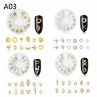 FixedPrice4 boxes nail arts jewelry 3d rivet colorful diamond alloy manicure decor fashion