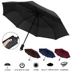 Automatic 3 Folding Umbrella Anti-UV Sun/Rain Windproof Compact Umbrella Travel