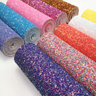 Kyпить Candy Jelly Chunky Glitter Vinyl Fabric Faux Leather Hologram Sequin Bows Craft на еВаy.соm