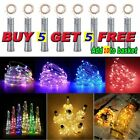 (buy 5 Get 5 Free)wine Bottle Led String Lights Battery Operated Home Decoration