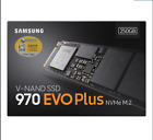 Samsung 970 EVO PLus 250GB 500GB 1TB Internal SSD PCI Express  NVMe m.2 2280 SSD